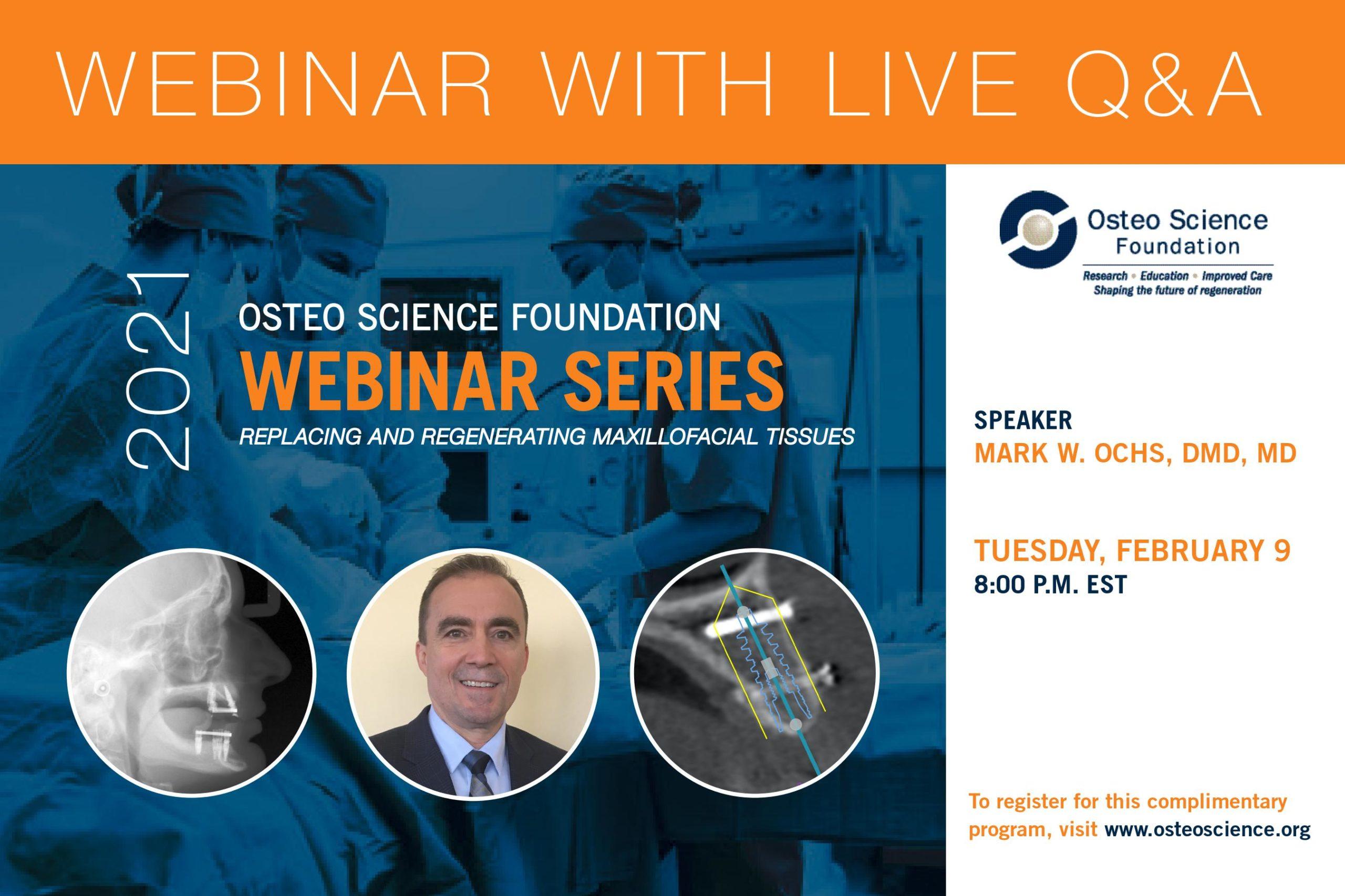 Dr. Mark Ochs Webinar