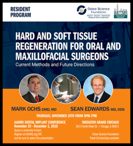 Cropped version of Osteo AAOMS conference flyer
