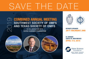 Updated save the date card front view for southwest-Texas conference