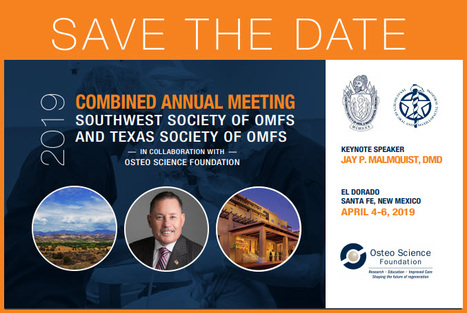 Save the Date for Texas conference with orange border