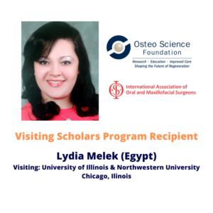 Visiting Scholars Program Recipient